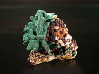 Photo 1/4 : Malachite sur azurite